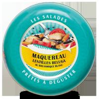 Salade de Maquereau, Lentilles Béluga au Balsamique Blanc