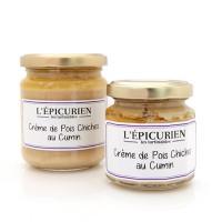 Crème de Pois Chiches au Cumin