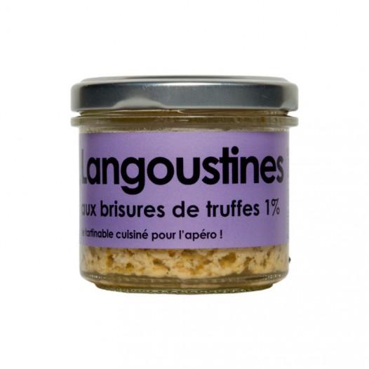 langoustines aux brisures de truffes