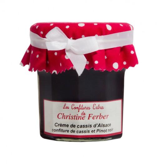 Confiture Crème de Cassis d'Alsace