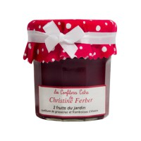 Confiture 2 Fruits du Jardin