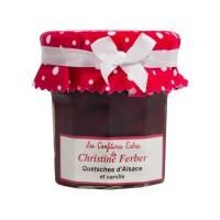 Confiture Quetsches d'Alsace et Vanille