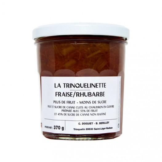 Confiture de Fraise-Rhubarbe