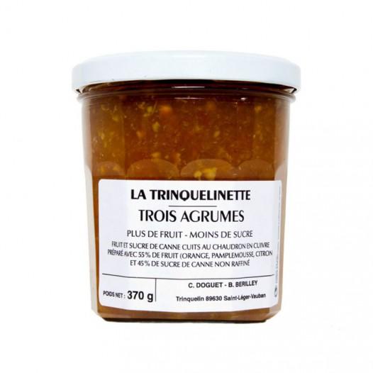 Confiture Trois Agrumes