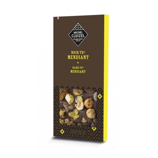 Chocolat Noir 72% Mendiant