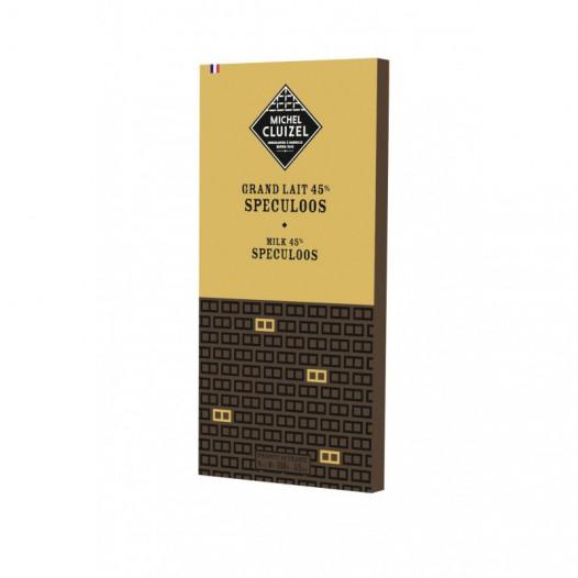 Chocolat Grand Lait 45% Speculoos