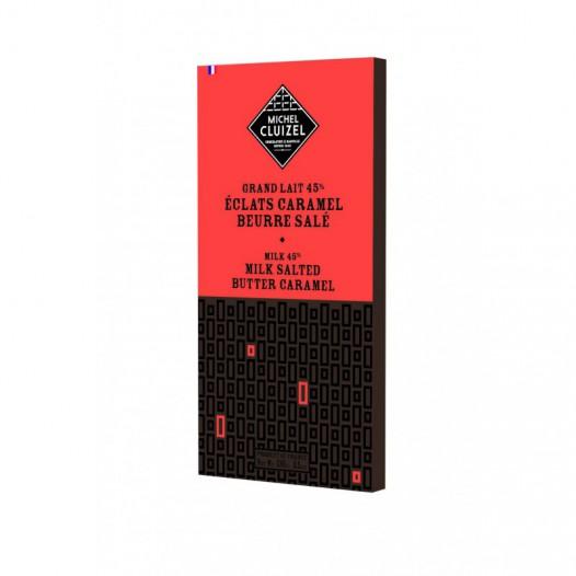 Chocolat Grand Lait 45% Éclats Caramel Beurre Salé