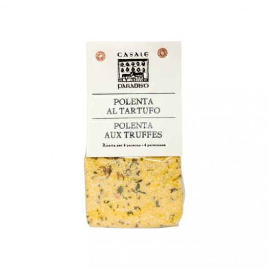 polenta aux truffes casale paradiso