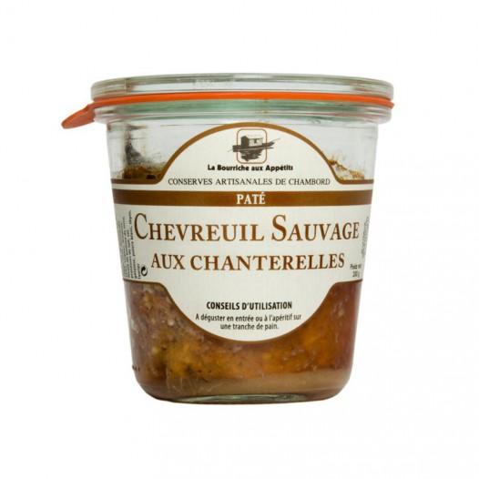 Pâté de Chevreuil Sauvage aux Chanterelles