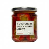 Poivrons aux Anchois et Olives
