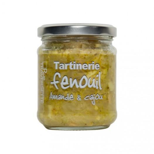 Tartinerie Fenouil Amandes et Cajou