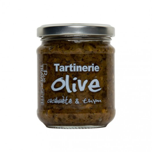 Tartinerie Olive, Cacahuète et Thym
