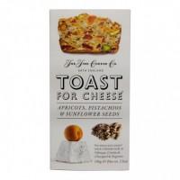Toast pour Fromage Abricots, Pistache et Graines de Tournesol