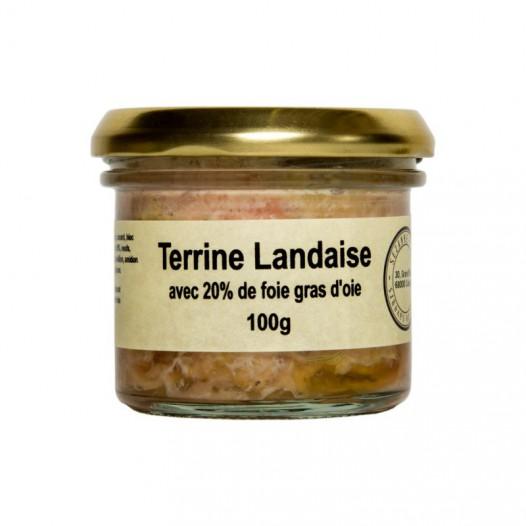 Terrine Landaise au Foie Gras d'Oie