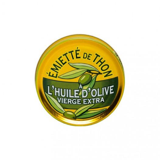 Émiétté de Thon à l'Huile d'Olive Vierge Extra