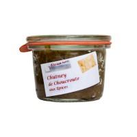 Chutney de Choucroute aux épices