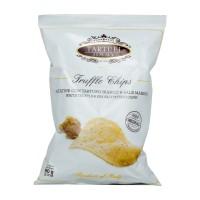 Chips à la truffe blanche et au sel de mer