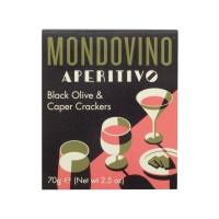 Crackers aux Olives Noires et Capres