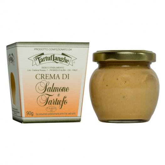 Crème de Saumon à la Truffe d'Été