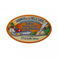 Sandwich de la Belle-Iloise - Sardines, Tomates, Panais et Pois Gourmands