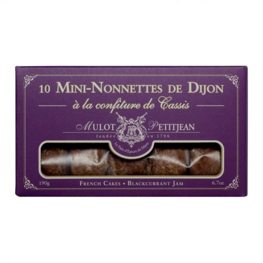 Mini-Nonettes de Dijon à la Confiture de Cassis