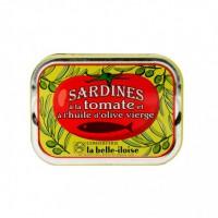 Sardines à l'Huile d'Olive et à la Tomate