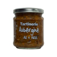 Tartinerie Aubergine, Ail et Noix