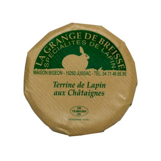 Terrine de Lapin aux Chataignes