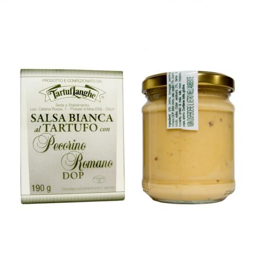 Sauce Blanche à la Truffe et au Pecorino Romano
