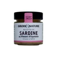 Rilllettes de Sardine au Piment d'Espelette