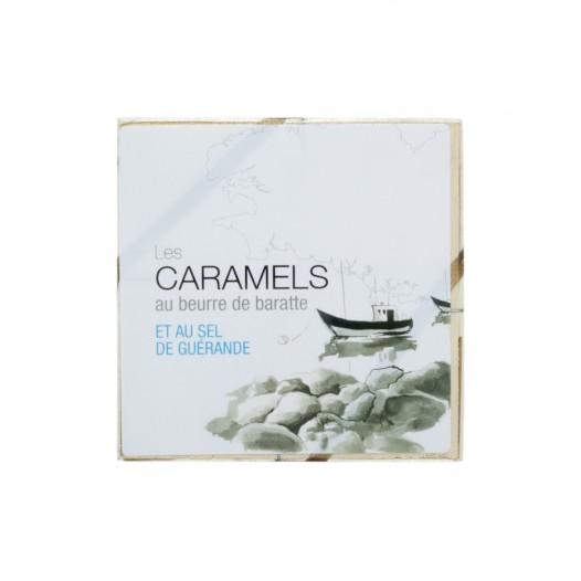 Caramels au beurre de baratte et sel de Guérande