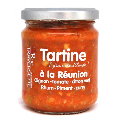 Tartine à la Réunion