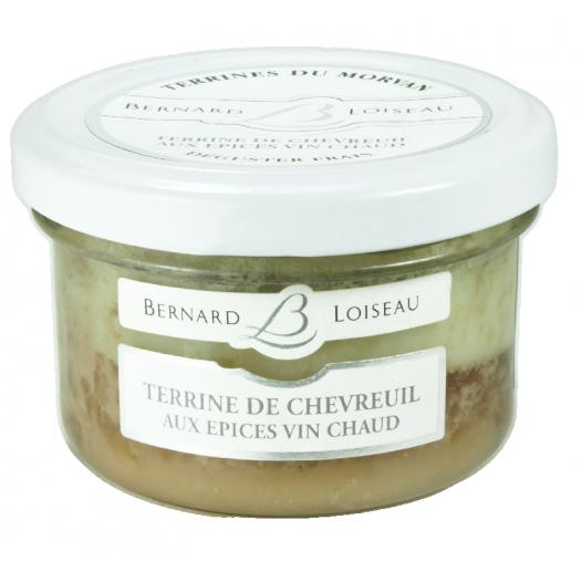 Terrine de Chevreuil aux Epices Vin Chaud