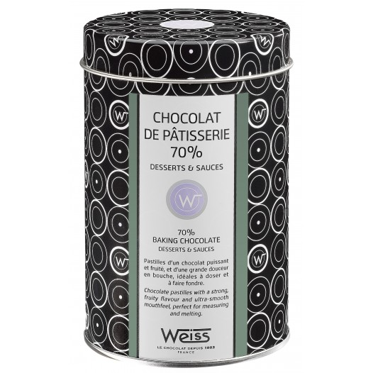 Chocolat de Pâtisserie 70%
