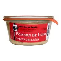 Terrine de Poisson de Loire et Épices Grillés
