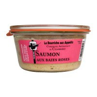 Terrine de Saumon aux Baies Roses