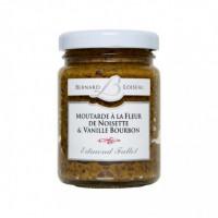 Moutarde à la Fleur de Noisette et Vanille Bourbon