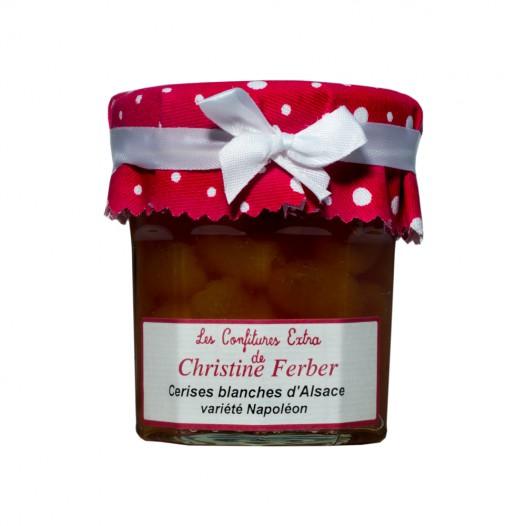 Confiture Cerises Blanches d'Alsace Variété Napoléon